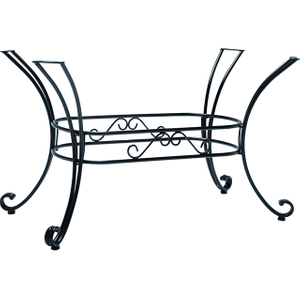 outdoor wrought iron table base YB081003