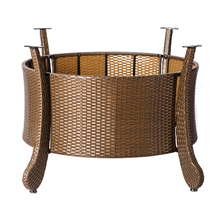 Outdoor rattan table base YBR581201-2